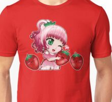 Strawberry chibi Unisex T-Shirt