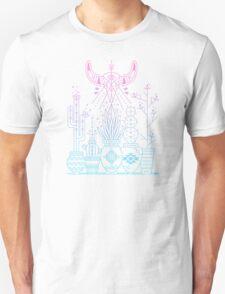 Santa Fe Garden – Rose Quartz & Serenity Unisex T-Shirt