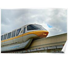 Yellow Monorail Poster