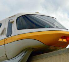 Yellow Monorail Sticker