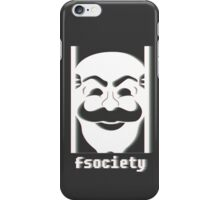 fsociety Mr Robot Phone case iPhone Case/Skin