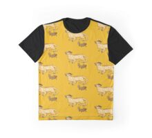Dachsund Dragon Graphic T-Shirt