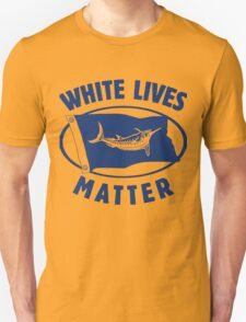 White Marlin lives matter Unisex T-Shirt
