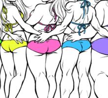 How to get a Bikini Body? Sticker