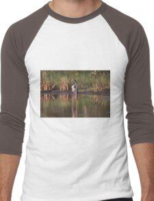 On Stilts Men's Baseball ¾ T-Shirt