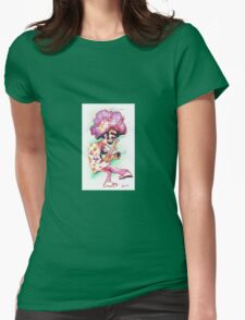 Funky Alto Player Womens Fitted T-Shirt