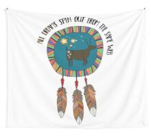 All Dreams Spin Out From the Same Web Wall Tapestry