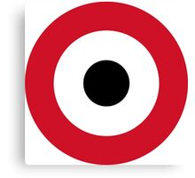 Egyptian Air Force Roundel  Canvas Print