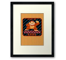 King of Kong Framed Print