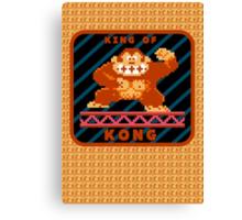 King of Kong Canvas Print