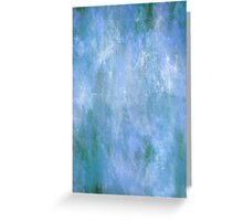 Blue Monet Greeting Card