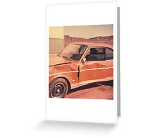 Beater Greeting Card