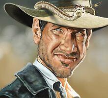 Indiana Jones by arievanderwyst