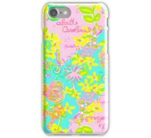Lilly Pulitzer South Carolina Print Inspired  iPhone Case/Skin