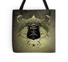 Clan Fraser shield with crossed swords Tote Bag