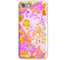 Lilly Pulitzer Georgia Print Inspired  iPhone Case/Skin