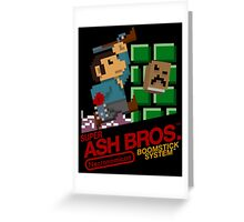 Super Ash Bros. (Poster, Etc.) Greeting Card
