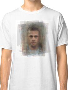 Tyler Durden Brad Pitt Fight Club  Classic T-Shirt