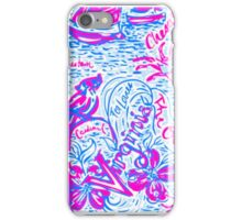 Lilly Pulitzer Virginia Print Inspired  iPhone Case/Skin
