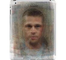 Tyler Durden Brad Pitt Fight Club  iPad Case/Skin