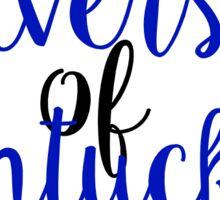 University of Kentucky Sticker