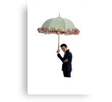 moriarty with umbrella Canvas Print