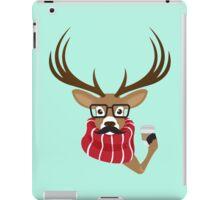 Hipster Deer iPad Case/Skin