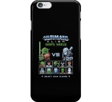 Ultimate Alien Death Match iPhone Case/Skin
