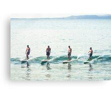 Noosa Surf Culture Canvas Print