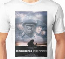 Saving Private Harambe  Unisex T-Shirt