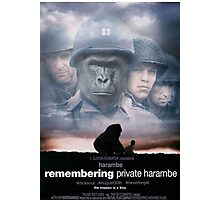 Saving Private Harambe  Photographic Print