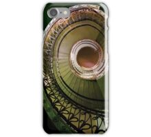 Spirals in brown and green iPhone Case/Skin