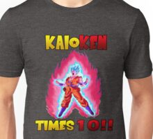 Goku Super Saiyan Blue Kaioken TImes 10 Unisex T-Shirt