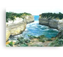 changing tides Canvas Print