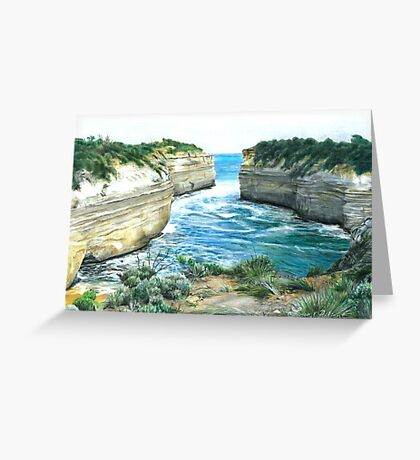 changing tides Greeting Card