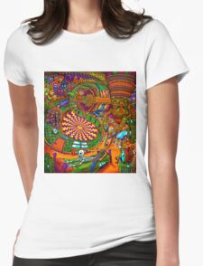 Carnival of the Abyss Womens Fitted T-Shirt