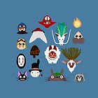 Many faces of Ghibli by rcdbstp21