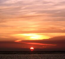 Gulf of Mexico Sunset by AuntDot