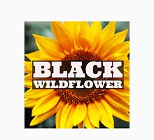Black Wildflower Unisex T-Shirt