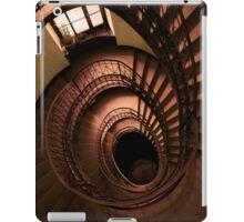 Spirals in brown iPad Case/Skin