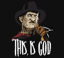 Freddy Krueger - This, is god by Oliver Delander