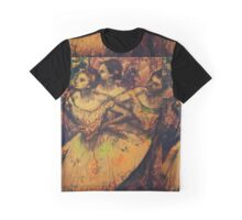 Tangerine Plum and Lime Graphic T-Shirt