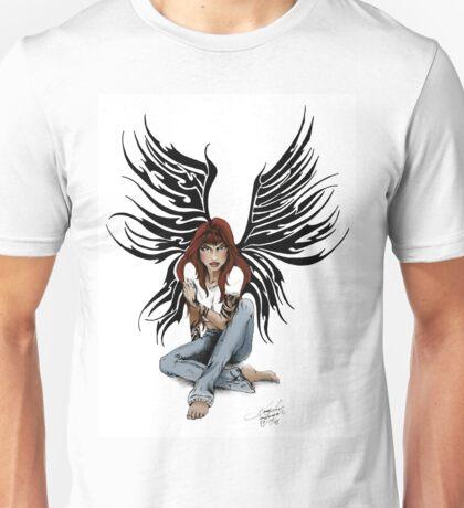 Blue Jean Angel Unisex T-Shirt