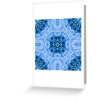 Glass Block - kaleidoscope Greeting Card