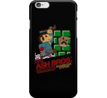 Super Ash Bros. (T-shirt, Etc.) iPhone Case/Skin