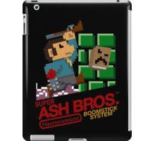 Super Ash Bros. (T-shirt, Etc.) iPad Case/Skin