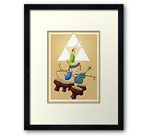 Zelda Instruments Framed Print