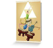 Zelda Instruments Greeting Card
