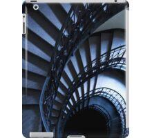 Half spiral stairs in blue iPad Case/Skin