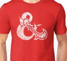 Dungeons&Dragons white ampersend Unisex T-Shirt